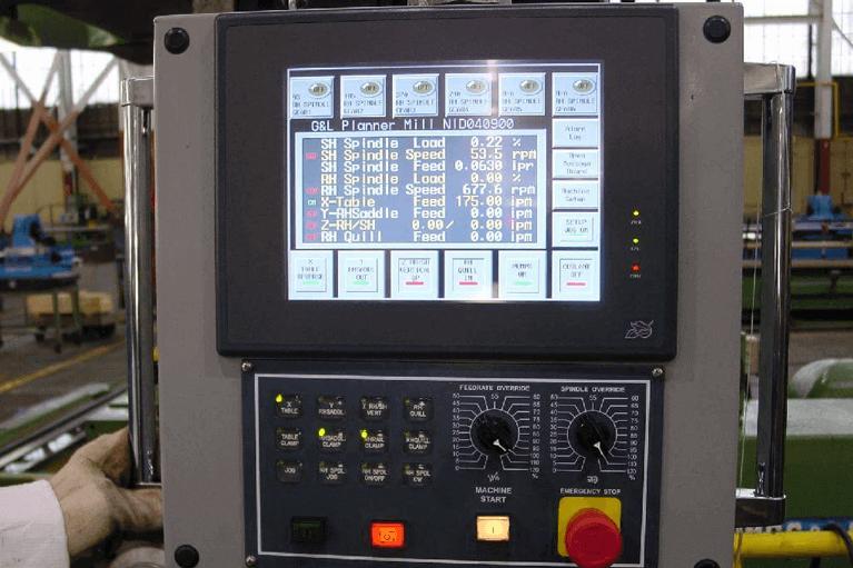 Operator Pendant Planer Milling Machine