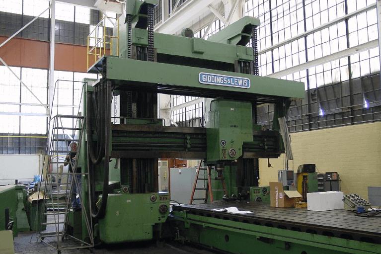 Planer Milling Machine Retrofit