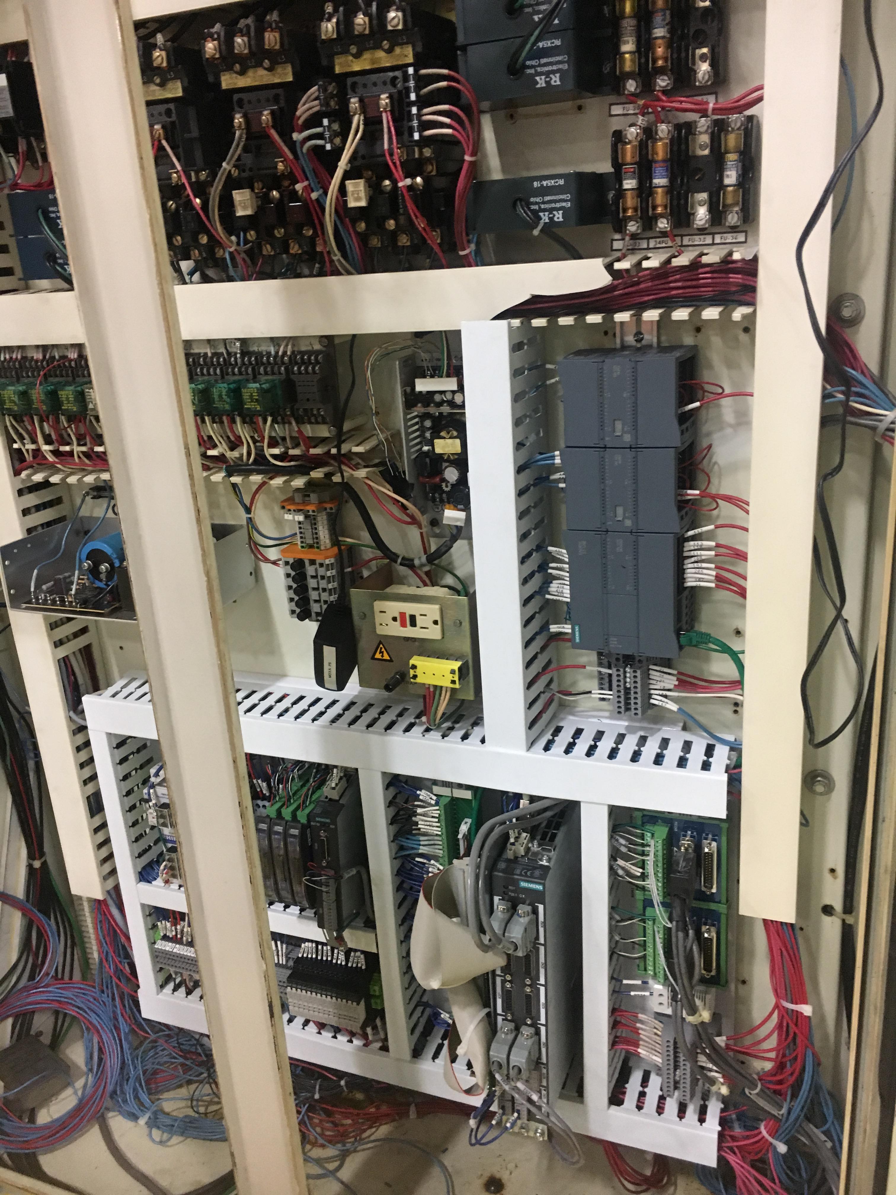 Siemens 828D Control Only Retrofit Analog Plate