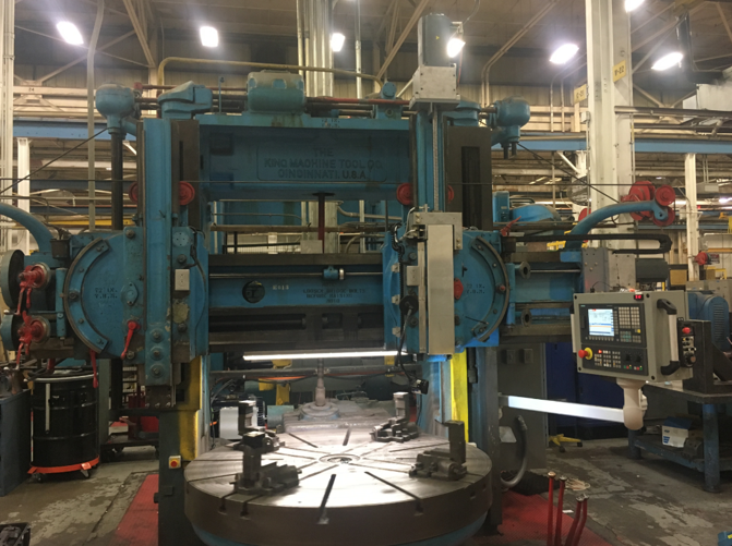 King VBM – Siemens 808D Advance CNC Upgrade – Front